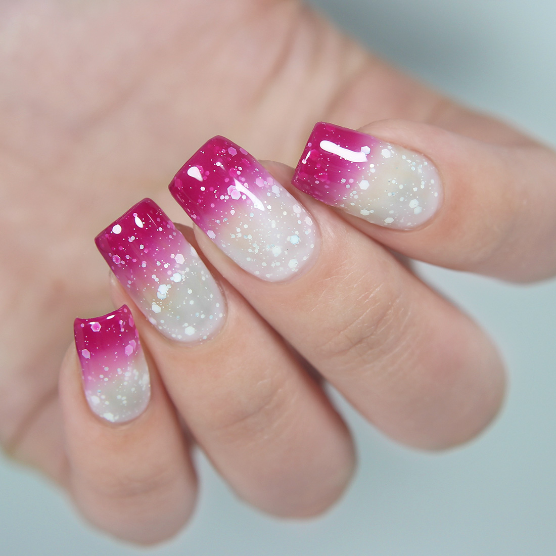 Gel Nail Polishes: BMC Thermal Color Changing Nail Lacquers Gel Polish