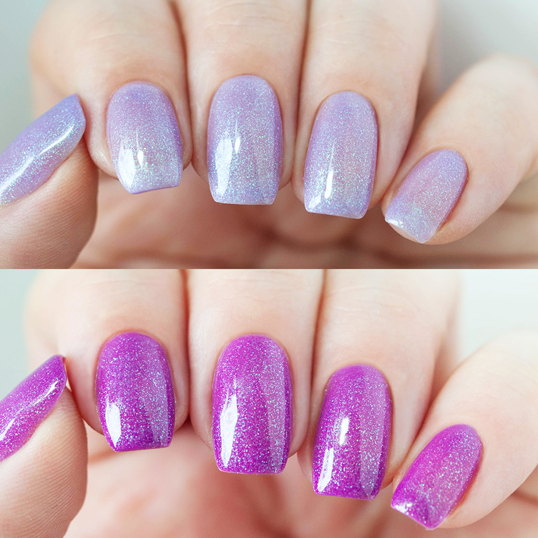 Gel Nail Polishes: BMC Thermal Effect Color Changing Nail Lacquer Gel Polish