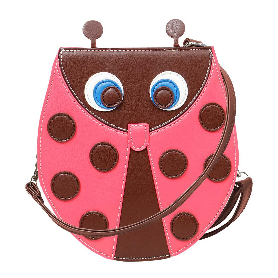 BMC PU Leather Cute Ladybug Shaped Shoulder Purse Clutch ...