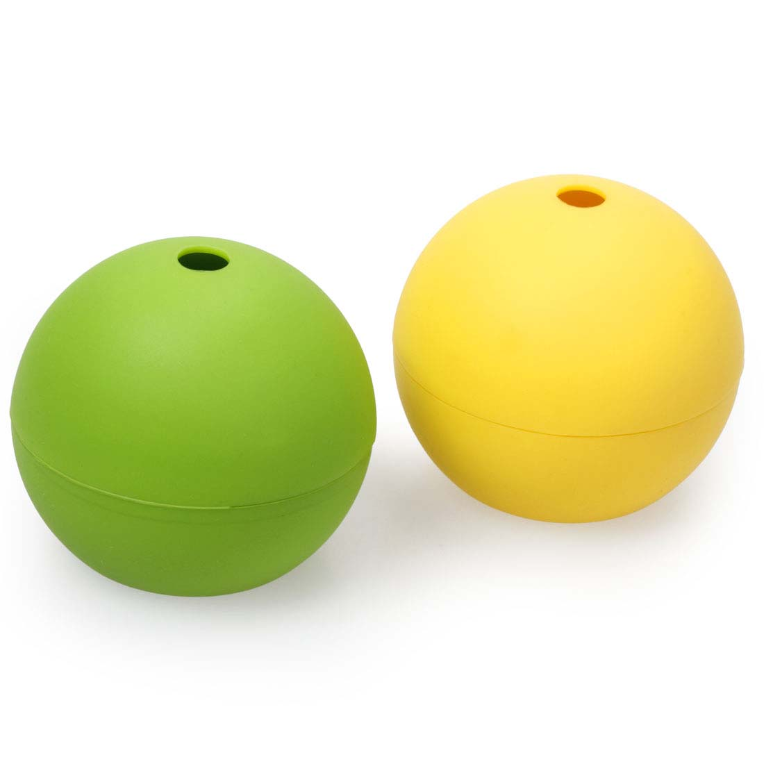 Bundle Monster BPA Free Silicone Ball Shaped Ice Maker Molds