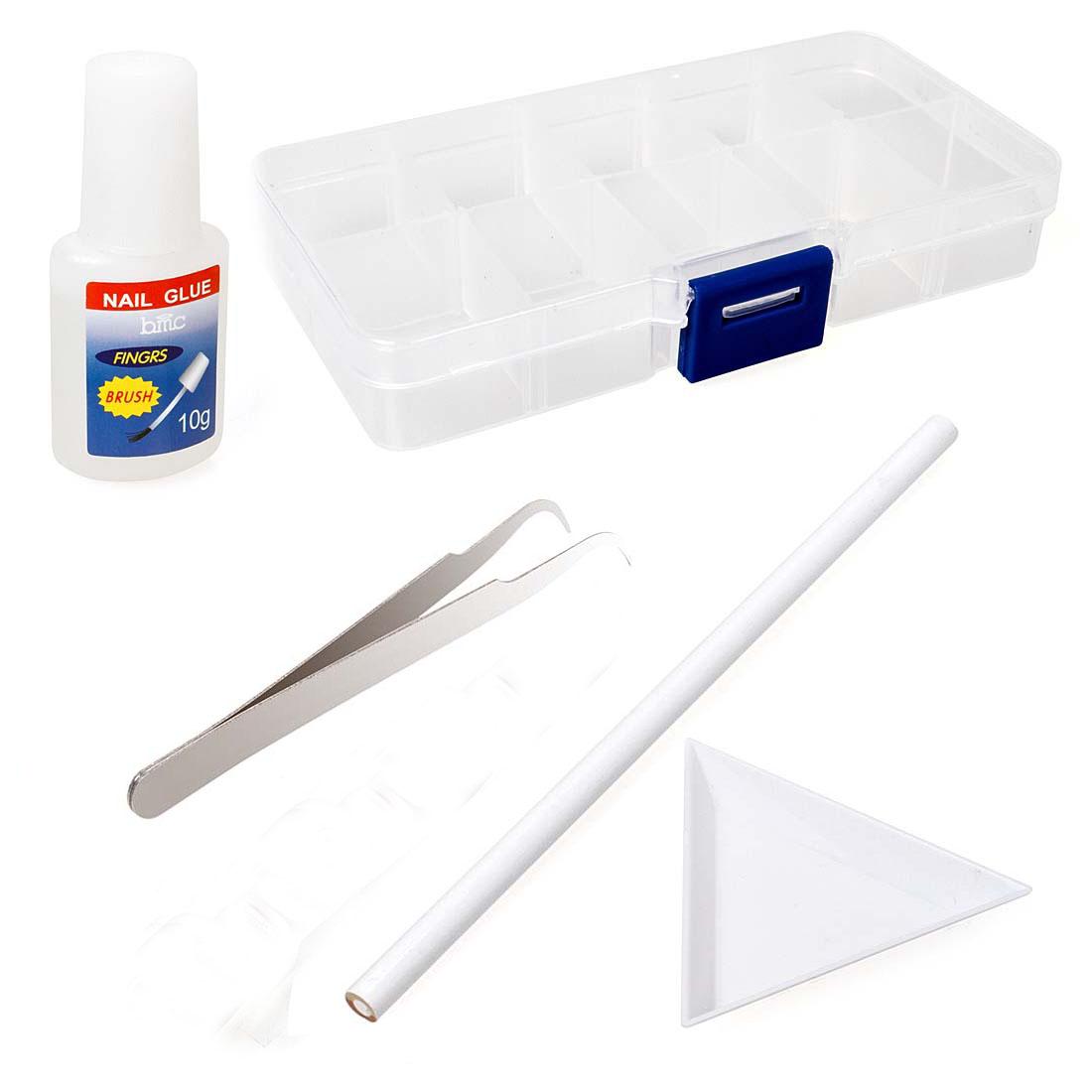 Nail Art Organizer: BMC 5pc Nail Art Tools: Slotted Organizer-Picking Pencil