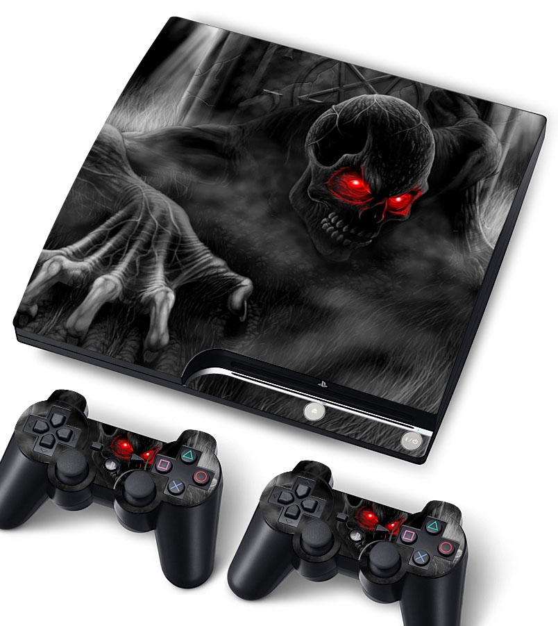 Bundle Monster Vinyl Skin Sticker for PlayStation PS3 S SLIM - Goblin