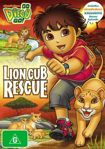 Go Diego Go!: Lion Cub Rescue<BR>NEW DVD Movie