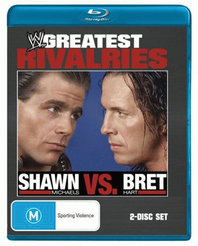 WWE: Greatest Rivalries - Shawn Michaels vs. Bret Hart<BR>NEW Blu-ray Movie