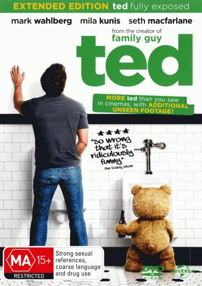 Ted<BR>NEW DVD Movie