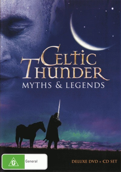 Celtic-Thunder-Myths-and-Legends-DVD-CD-NEW-DVM-Music