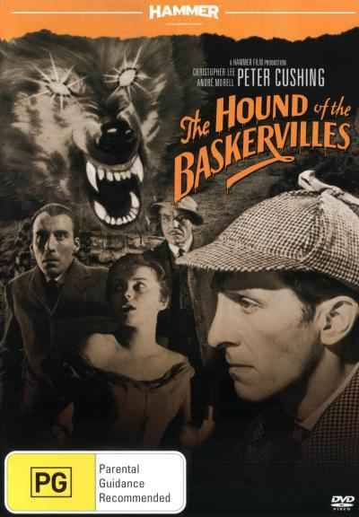 Hammer Horror: Hound Of The Baskervilles = NEW DVD R4