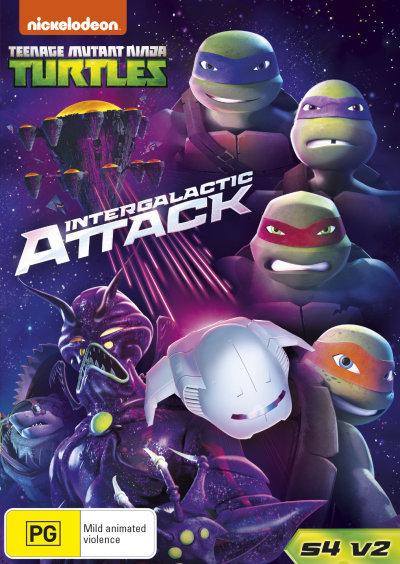 Teenage Mutant Ninja Turtles: Intergalactic Attack = NEW DVD R4
