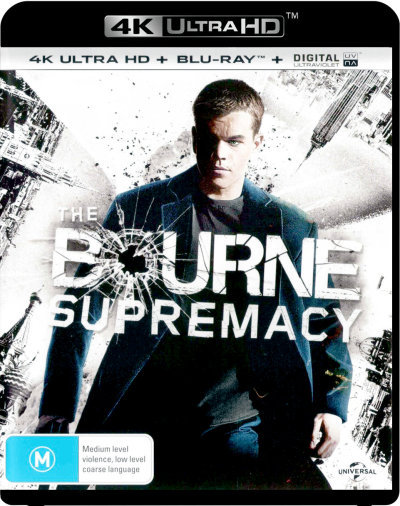 The Bourne Supremacy  (4KUHD/Blu-ray/UV) = NEW Blu-Ray Region B