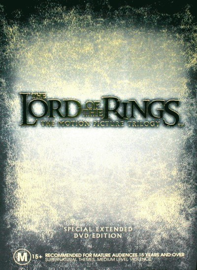 The Lord of the Rings: Trilogy (Special Extended Versions)<BR>NEW DVD Movie