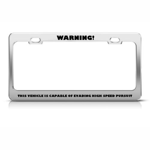 Funny License Plate Frame - Proga | Info