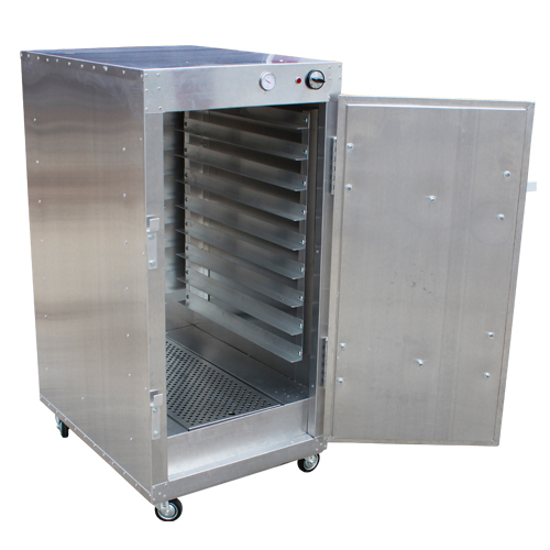 HeatMax 4' Commercial Warming Cabinet Bread Pastry Dough Warmer ...