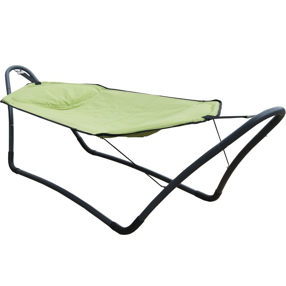 Prime Garden Products Co., LTD Prime Garden� W Style Hammock Set Camping Portable Travel Heavy Duty Green at Sears.com