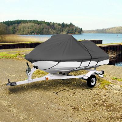 "KapscoMoto Trailerable Personal Watercraft Cover Gray 116""-126"" Jet Ski Wave P2B126-GRY at Sears.com"