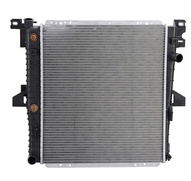 brand new premium radiator for 96 99 ford explorer mercury mountaineer 5 0 v8 ebay. Black Bedroom Furniture Sets. Home Design Ideas