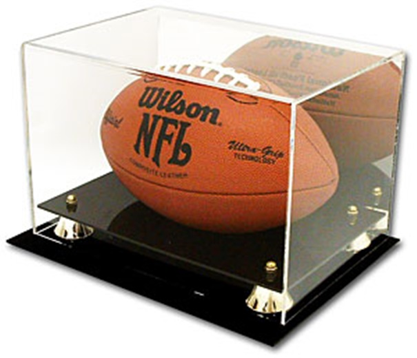 Cardboard Gold Deluxe Acrylic Football Display Case at Sears.com