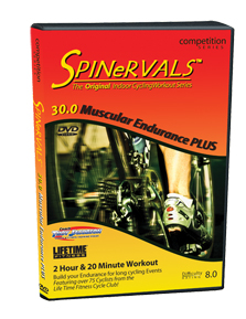 Spinervals 30.0 Muscular Endurance Plus Training DVD