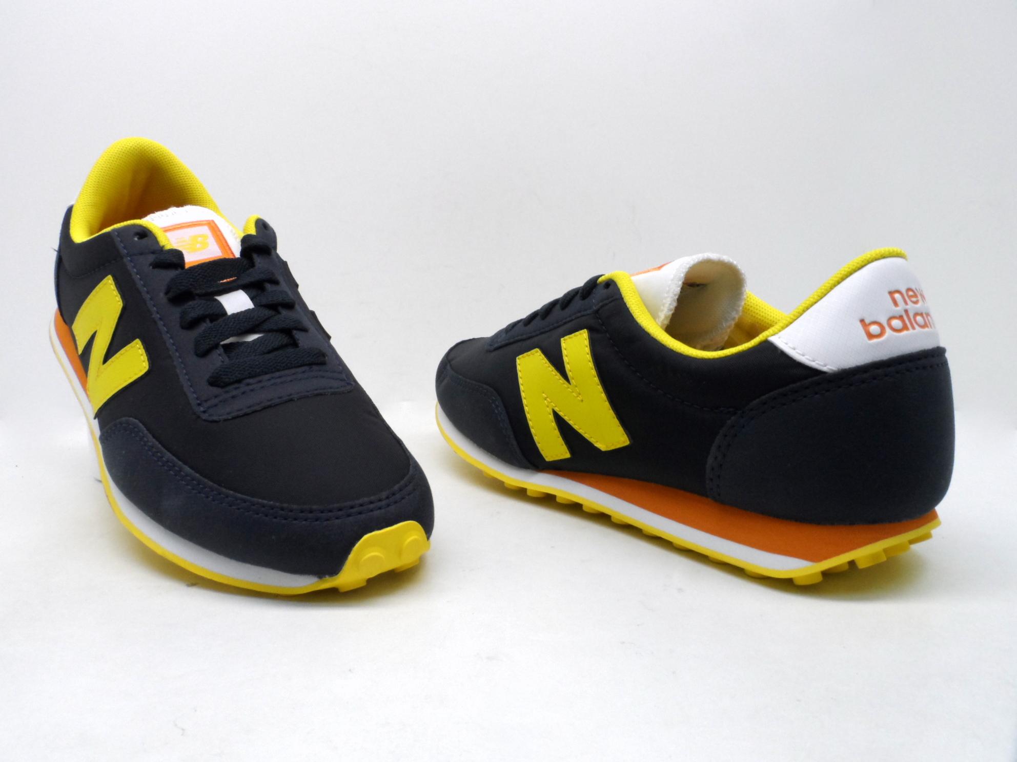 new balance 574 navy yellow box