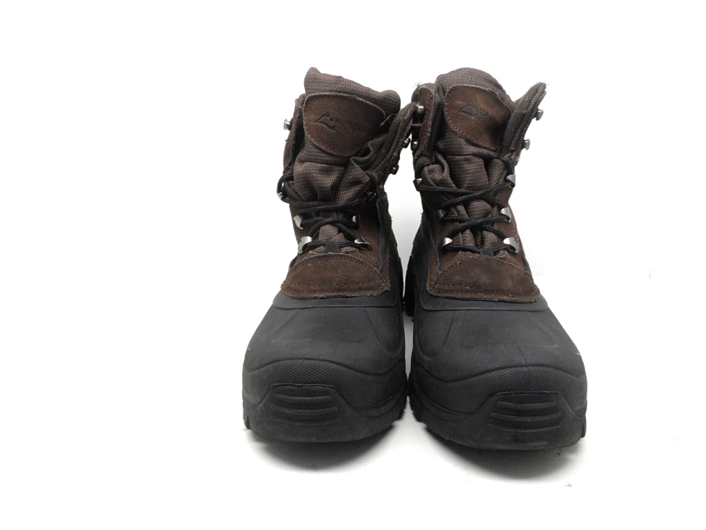 alpine design s everest high winter boots brown black
