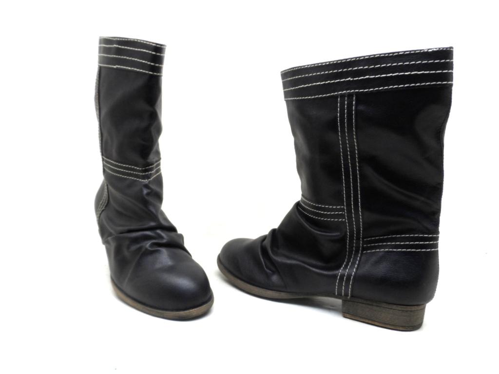 candies hansen womens boots black size 8 nwob ebay