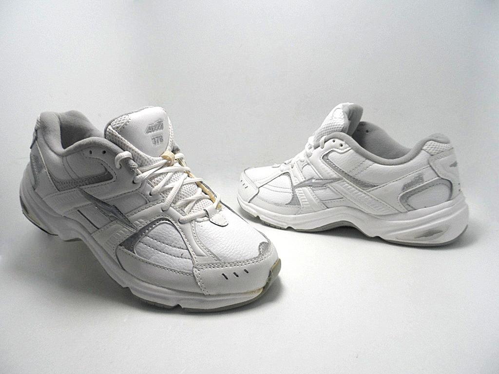 avia s 378 walking shoe white size 8 used ebay