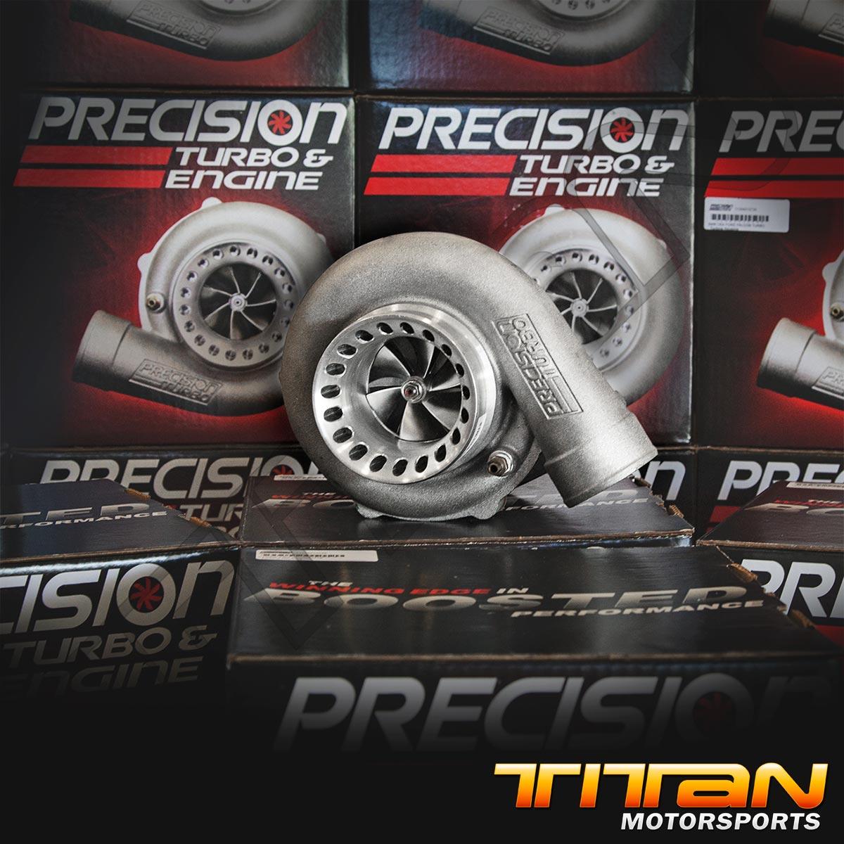 Precision Turbo T61: Precision Turbo 6262 Journal Bearing T4 .68 A/R V-band Non