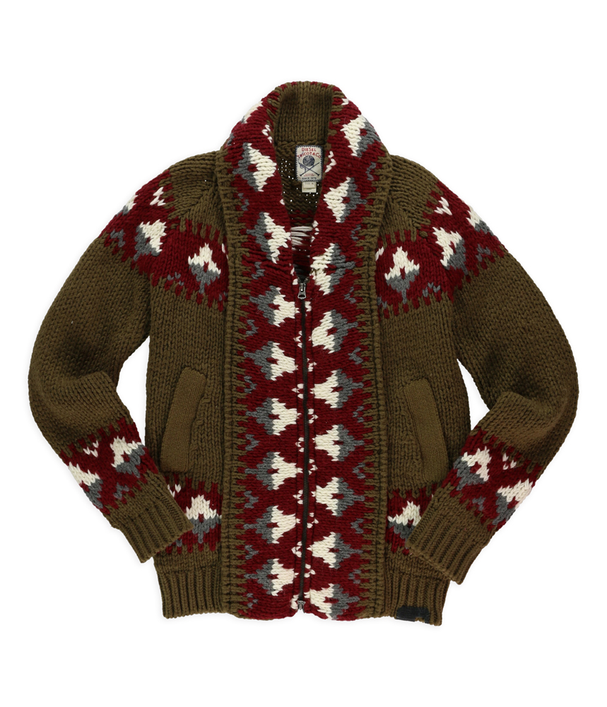 Diesel Mens K-Kamea Cardigan Sweater at Sears.com
