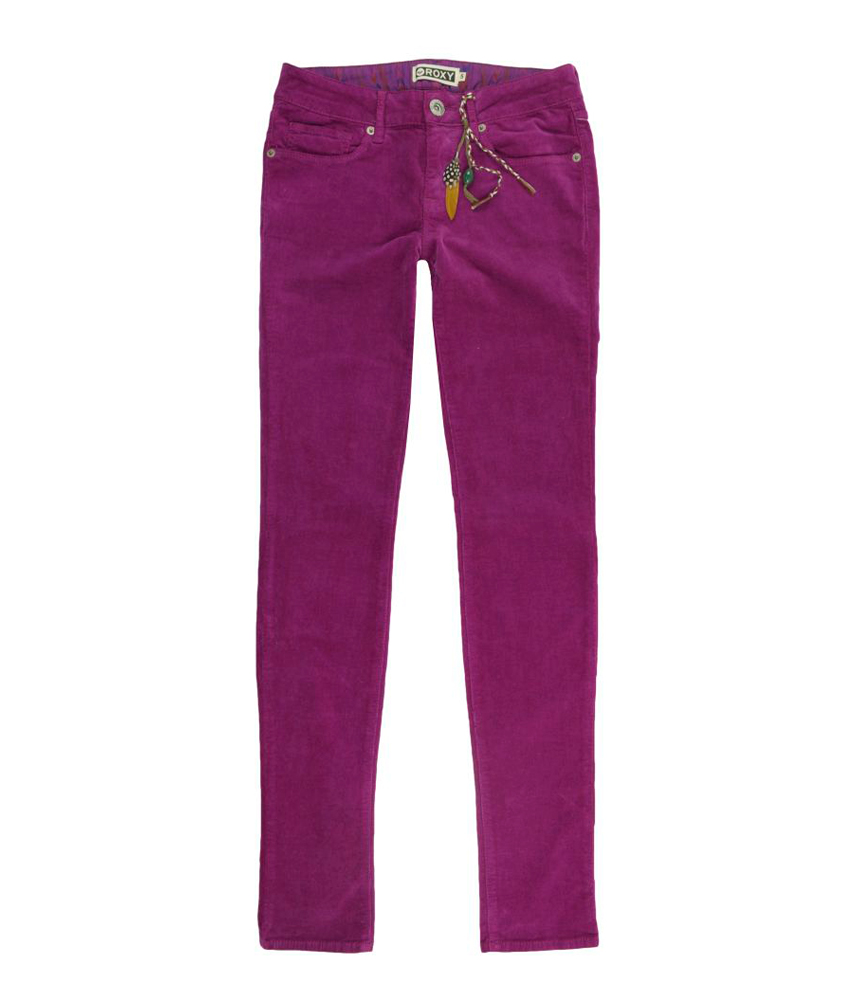 New  Womens Pink Cotton Corduroy W26 Long Skinny Fitted Pants Jeans  EBay