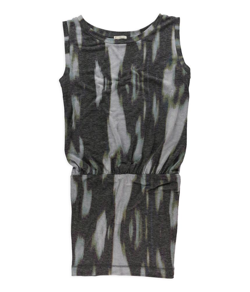 Rachel Roy Womens Ikat Dropped Waist Dress