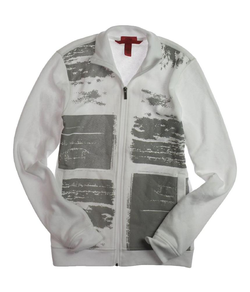 Alfani mens ls spekr pnl zip mck sweatshirt mens apparel for Alfani mens shirt size chart