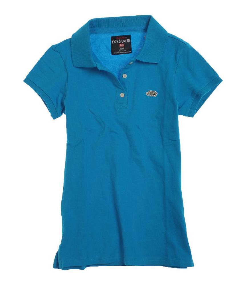 Ecko Unltd. Ecko Unltd. Womens Pique Polo Shirt