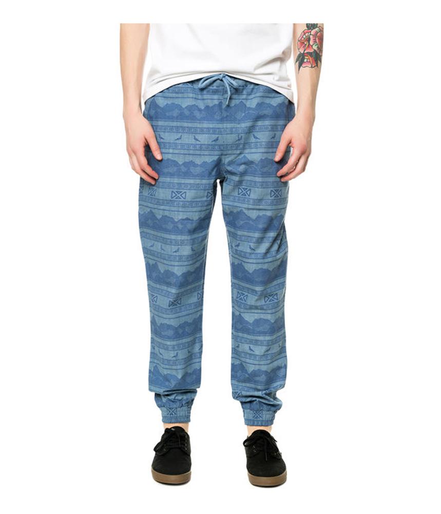Staple Mens The Kalahari Cuff Casual Trousers
