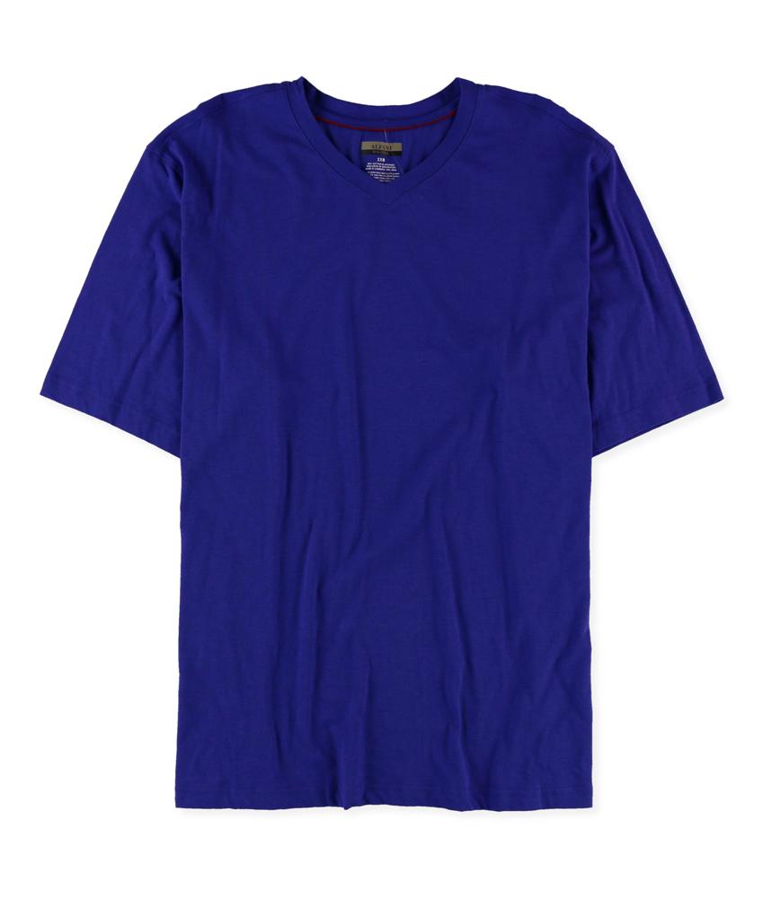Alfani mens classic basic t shirt mens apparel free for Alfani mens shirt size chart