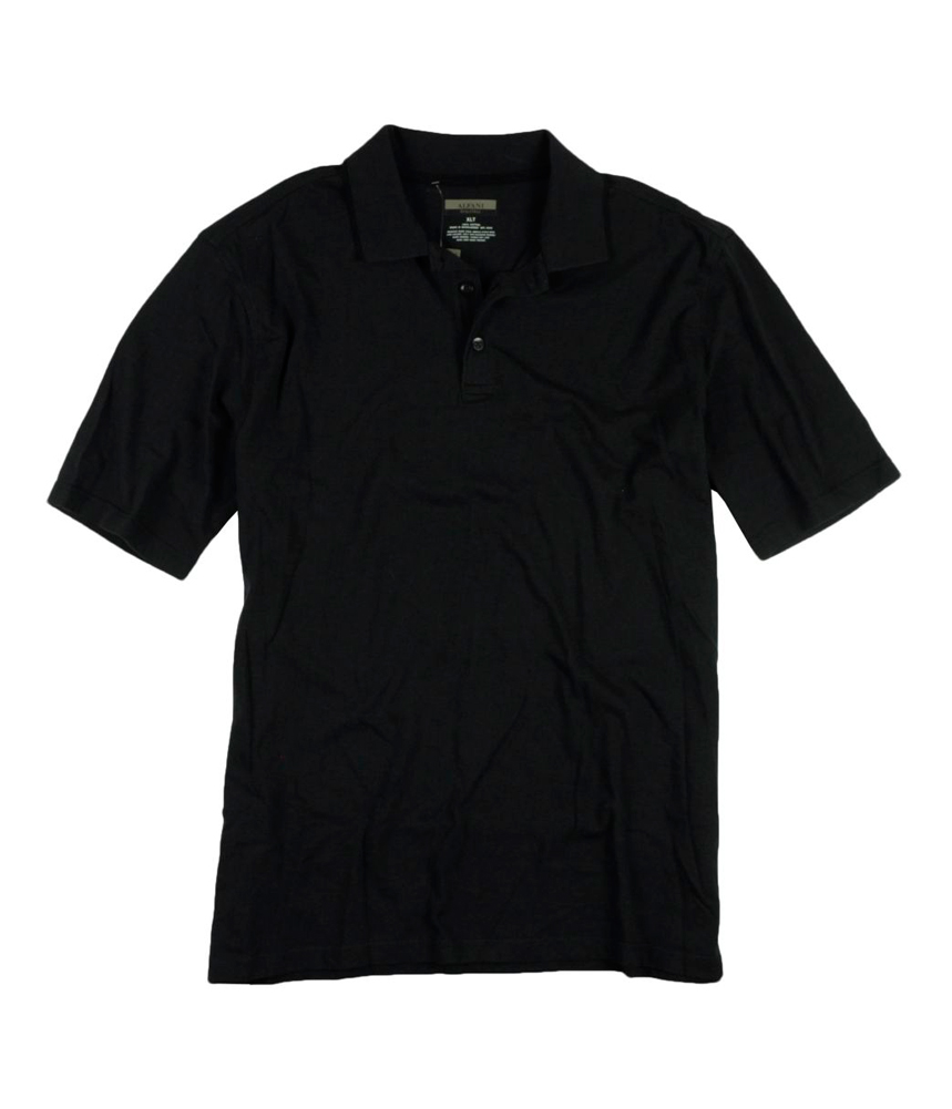 Alfani mens 3 button rugby polo shirt mens apparel for 3 button polo shirts