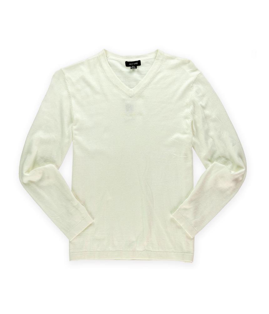 Alfani mens woven v neck knit sweater mens apparel for Alfani mens shirt size chart