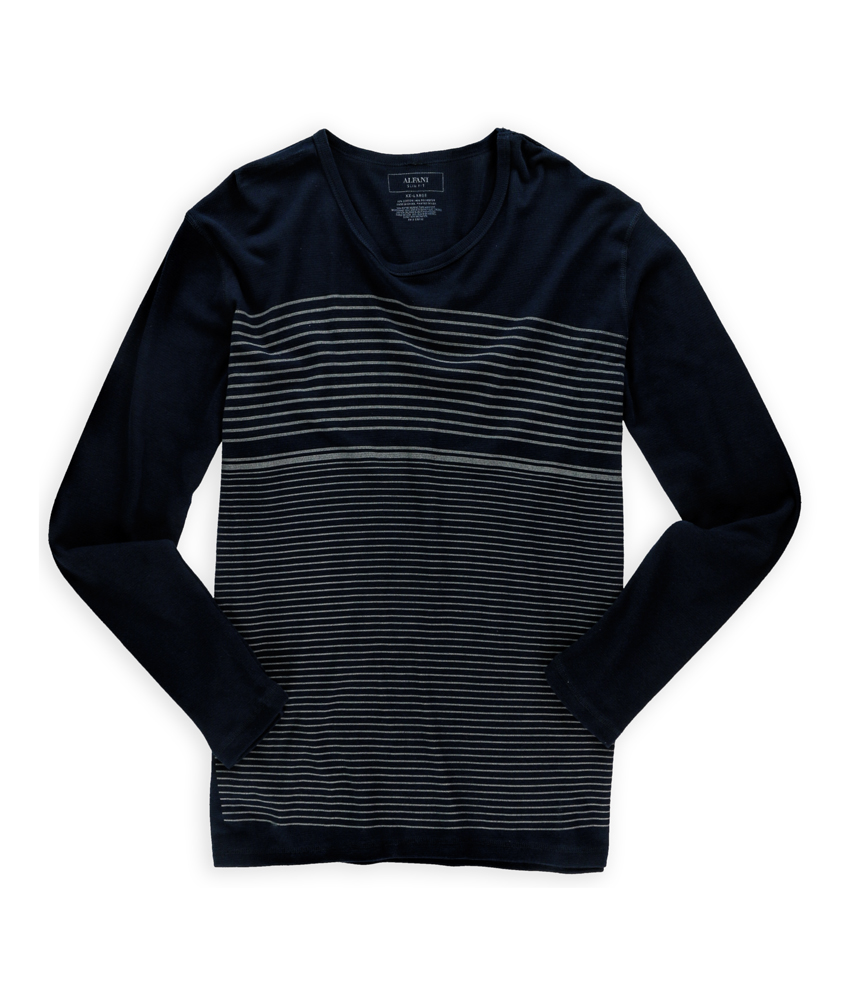 Alfani mens thermal grid basic t shirt mens apparel for Alfani mens shirt size chart