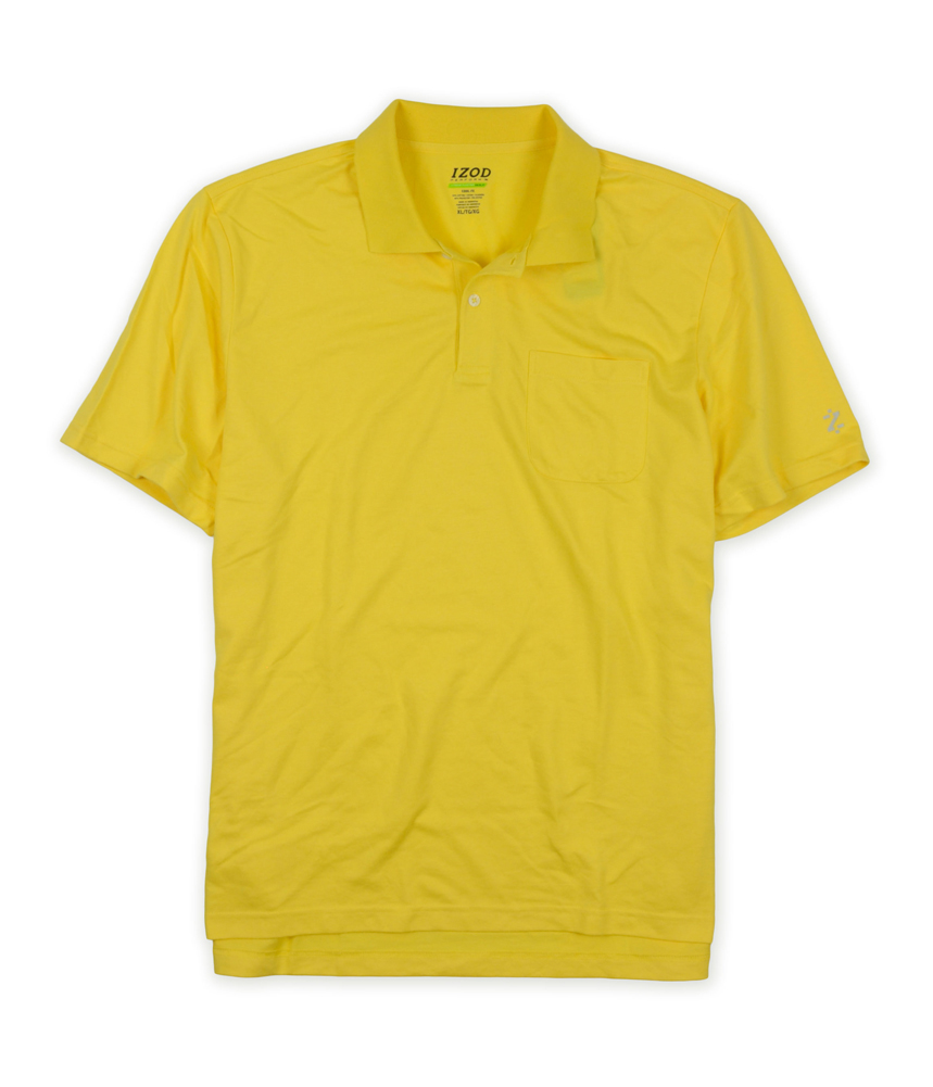 Izod mens extreme function golf cool fx rugby polo shirt for Cool mens polo shirts