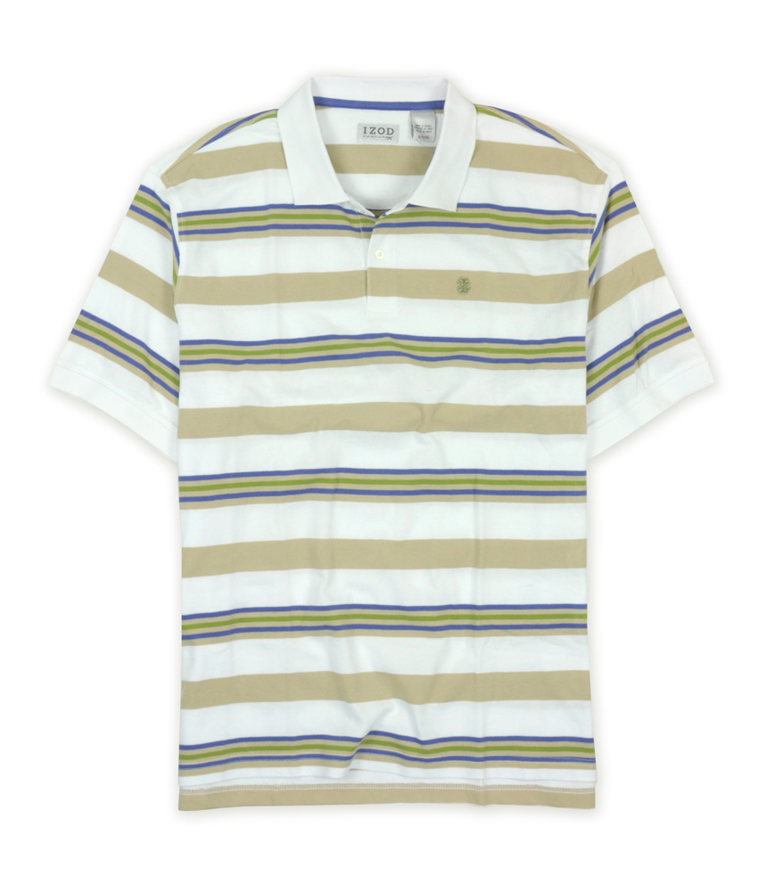 Izod Mens Performx Cool Fx Rugby Polo Shirt Mens Apparel