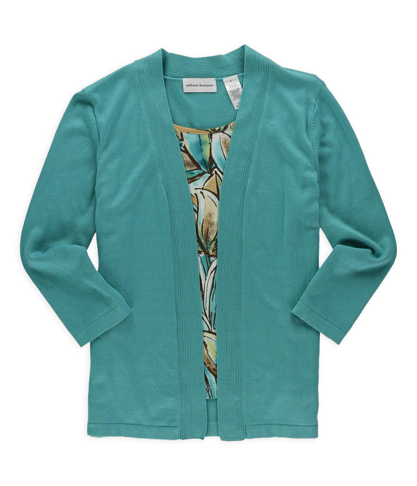 Alfred Dunner Womens 2 Fer Twinset Sweater at Sears.com