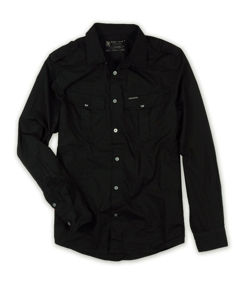 Marc ecko mens deadly thread button up shirt mens for Marc ecko dress shirts