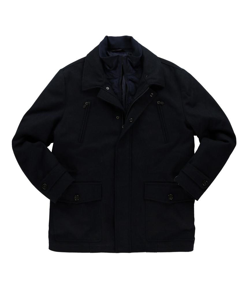 Tasso Elba Mens Wool Winter Pea Coat at Sears.com