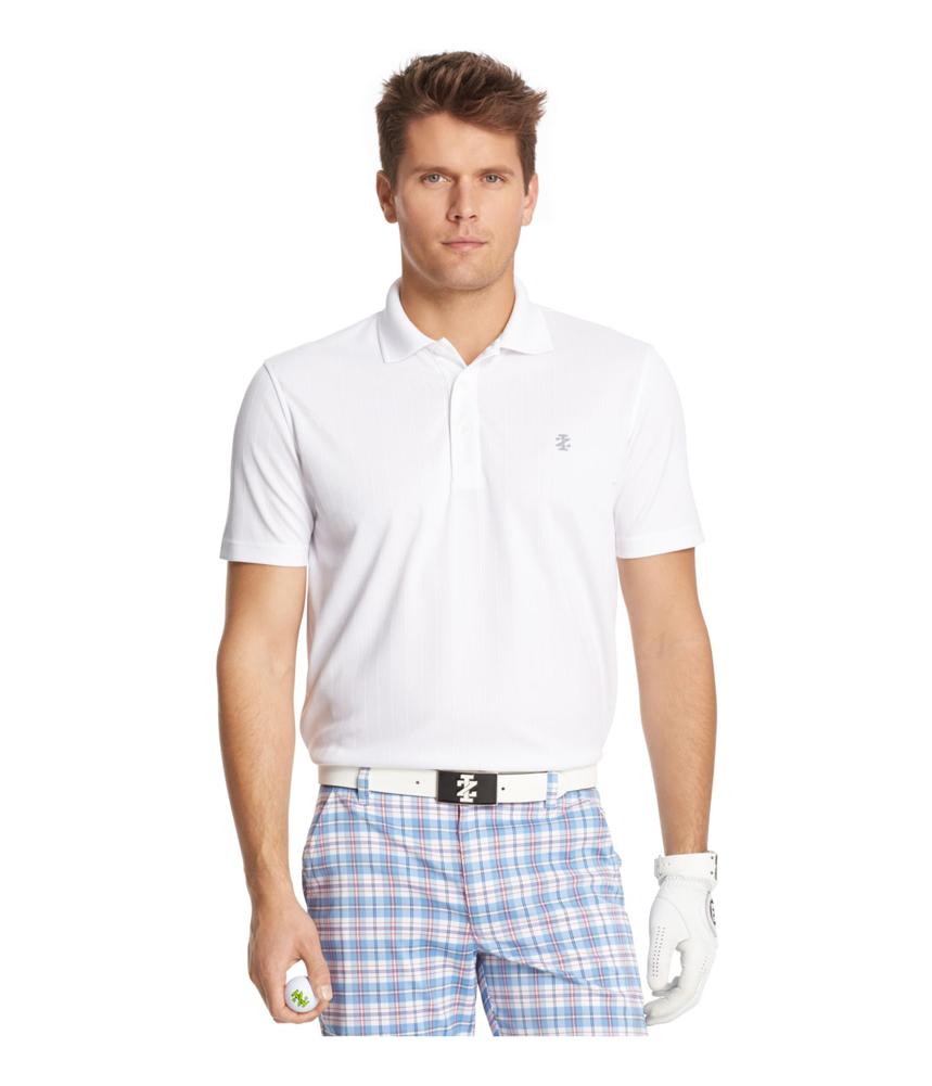 Izod Mens Golf Rugby Polo Shirt Mens Apparel Free
