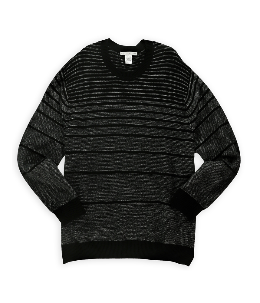 Geoffrey Beene Geoffrey Beene Mens Knitted Stripe Pullover Sweater