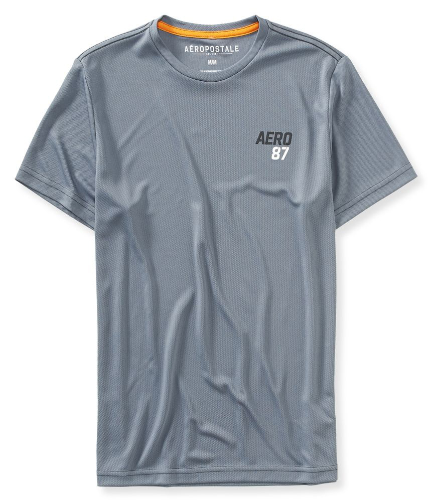 Aeropostale Mens Moisture Wicking Basic T Shirt Mens