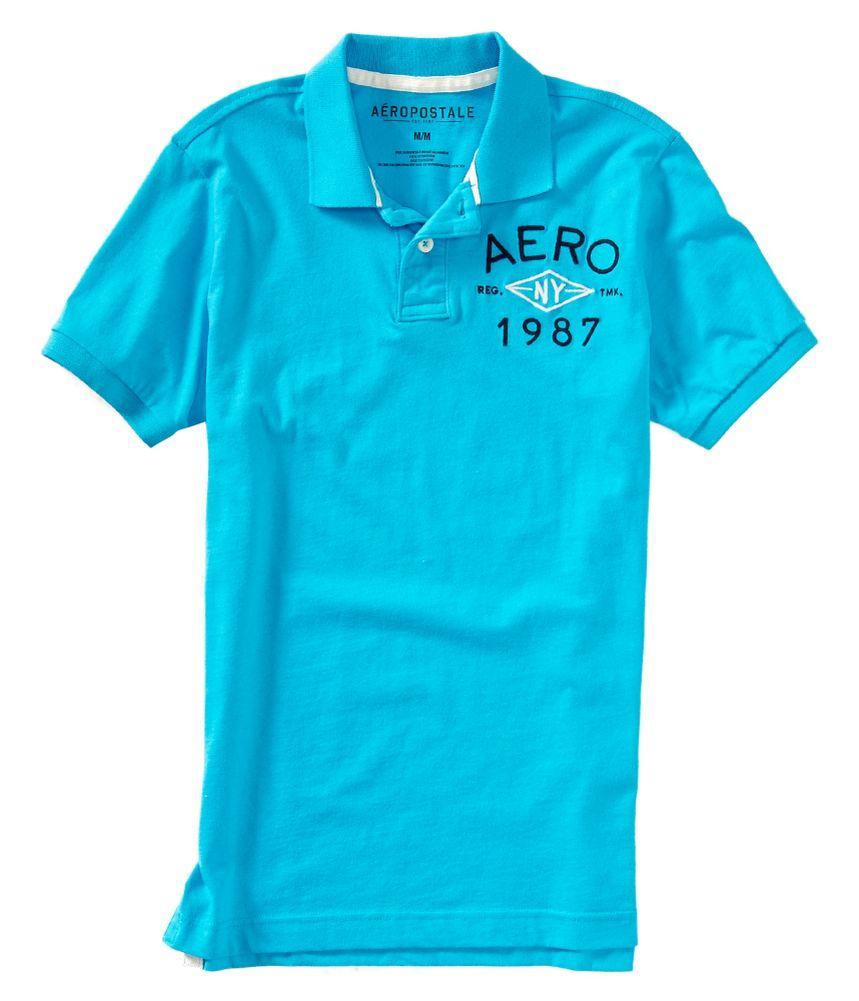 Aeropostale mens n y 1987 rugby polo shirt ebay for Union made polo shirts