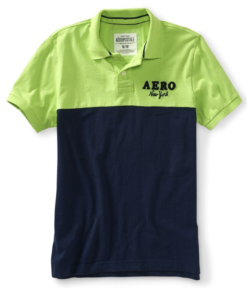 Aeropostale Mens New York Rugby Polo Shirt Ebay
