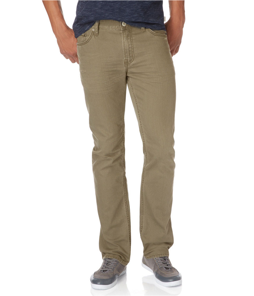 Where skinny jeans and slim fit jeans taper and get narrower around the calves and ankles, straight jeans do not. A lot of guys prefer straight leg jeans because they are more comfortable and less restricting than other popular styles of men's jeans. At PacSun, our straight leg jeans for men are designed to be stylish and comfortable.