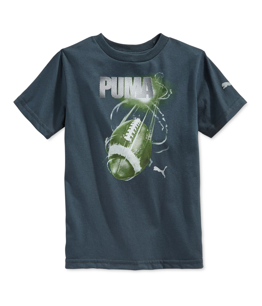 Puma Boys Football Graphic T Shirt Boys Apparel Free