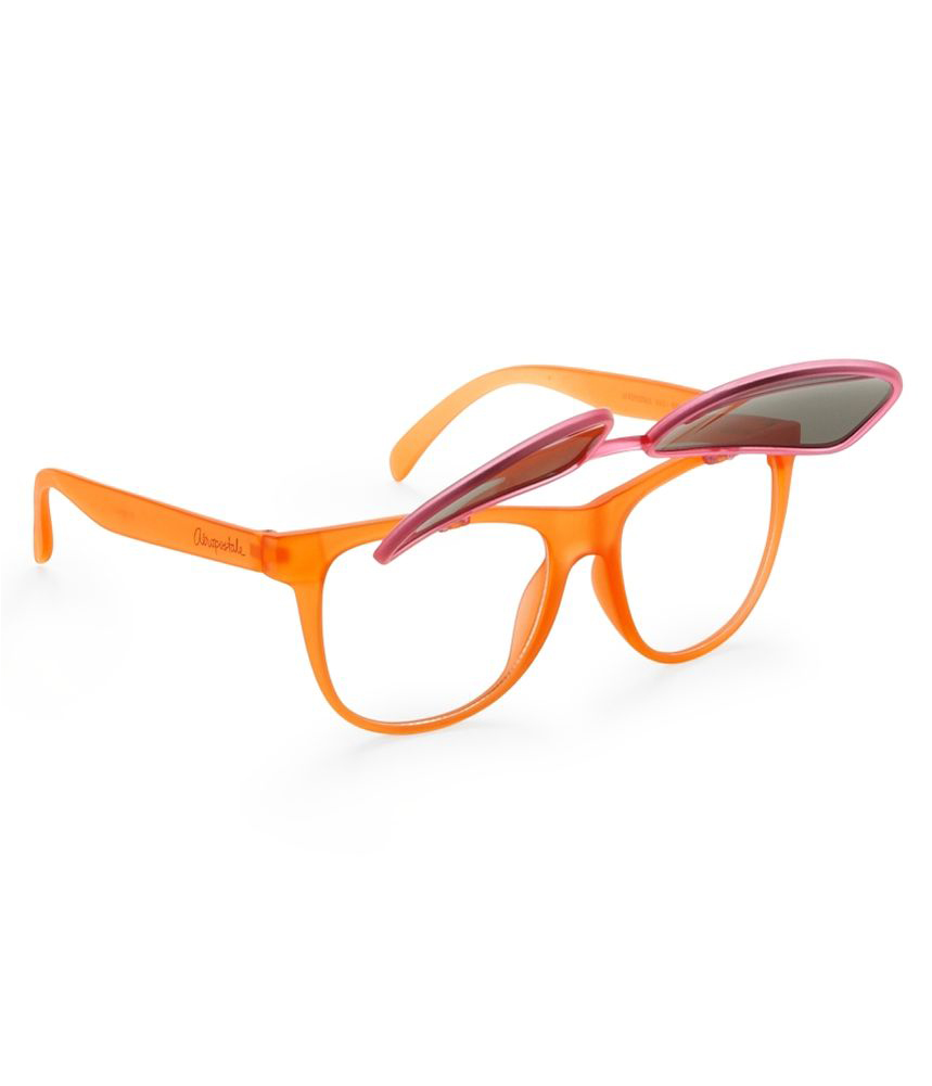 Glasses Frame Flip Up : Aeropostale Unisex Convertible Flip-Up Oval Frame Sport ...