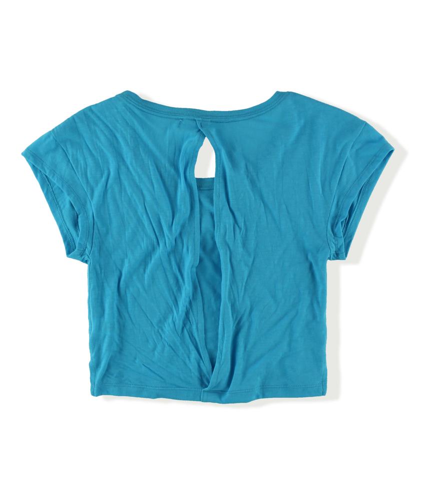 Aeropostale womens open back pajama sleep t shirt ebay for Women s flannel sleep shirt